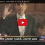 Obama Lies About Selma