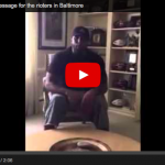 Legendary Baltimore Ravens Player Has A Message For Rioters
