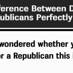 How To Tell The Difference Between A Republican And A Democrat
