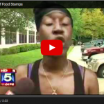 Lady On Welfare Freaks Out When Food Stamps Are Delayed