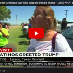 Mexican American Woman : Trump Is Telling The Truth