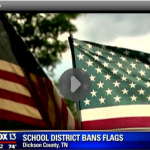 Video : Tennessee School Bans American Flag