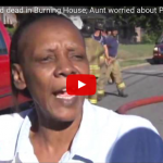 "VIDEO: The Aunt of 2 Children Who Were Left Alone And Died in House Fire Has ""No Regrets"" And More Worried About Her Missing Food Stamps"