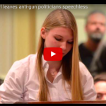 [VIDEO] This 15 Year Old Has An Epic Take-Down For Leftists Demanding Stricter Gun Control
