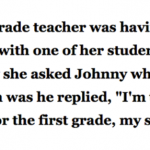 Student Thinks He Is Too Smart For The First Grade And Wants To Get Promoted … This Is Golden!