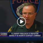"A Liberal Reporter Goes After A Sheriff For Not Being ""Politically Correct"", Sheriff Has An Awesome And Straightforward Response"