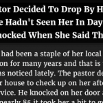 Hilarious : Pastor Decides To Drop By Her House After Not Seeing Her In Days. But Is Shocked When She Said This.